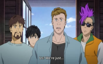 Banana Fish Episode 6