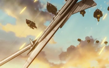 Last Exile: Fam, the Silver Wing - Over the Wishes MOVIE