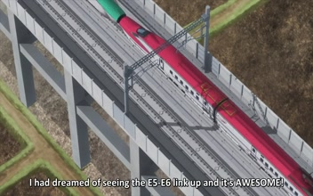 Shinkansen Henkei Robo Shinkalion The Animation Episode 9